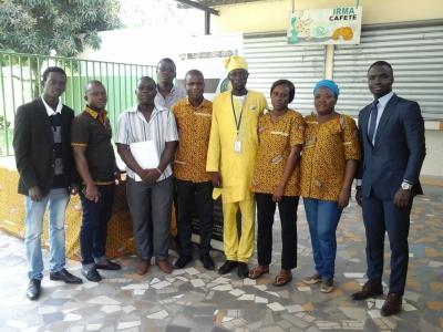 LE CONSEIL DU CAFE-CACAO AU SOMMET DE LA JEUNESSE AFRICAINE A GRAND-BASSAM