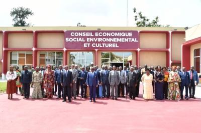 LE CONSEIL DU CAFE-CACAO DEVANT LE CONSEIL ECONOMIQUE, SOCIAL, ENVIRONNEMENTAL ET CULTUREL (CESEC)