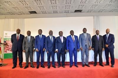 INITIATIVE CACAO CÔTE D'IVOIRE-GHANA : LE PRESIDENT DU COMITE DE PILOTAGE ET LE SECRETAIRE EXECUTIF INSTALLES