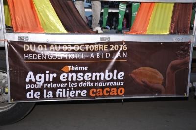 LE CONSEIL DU CAFE-CACAO ORGANISE UNE CARAVANE DE SENSIBILISATION SUR LES JNCC 2016 A TRAVERS LES DIX COMMUNES D'ABIDJAN ET LES BANLIEUES