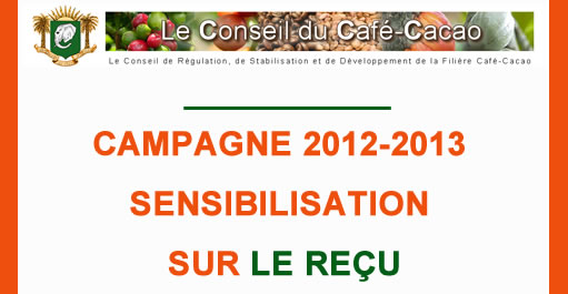 CAMPAGNE CACAO INTERMEDIAIRE 2012-2013 : SENSIBILISATION SUR LE REU